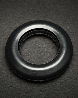 Black Silicone Pump Cushion