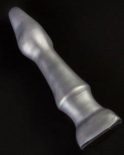 Ridged Long Neck - SuperSoft Graphite