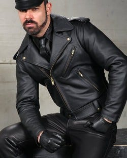 Mr. S Deluxe Leather Jacket