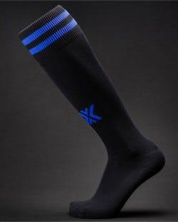 X Soccer Sox Black/Blue