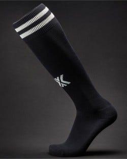 X Soccer Sox Black/White