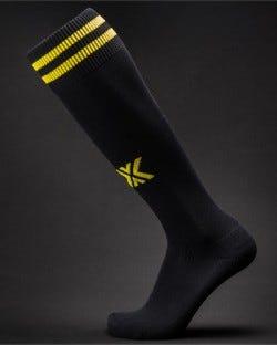 X Soccer Sox Black/Yellow