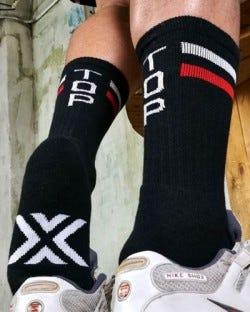 Skater Socks - Top - Black