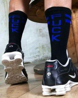 Skater Socks - Fuck