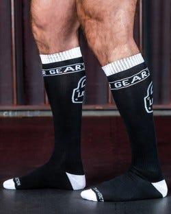 Locker Gear Knee High Socks - White