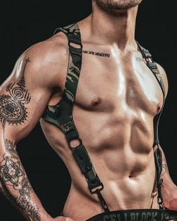 Spartan Reversible Harness - Camo