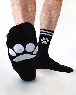 Sk8erboy Socks - Puppy - Black