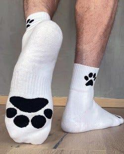 Sk8erboy Crew Socks - Puppy