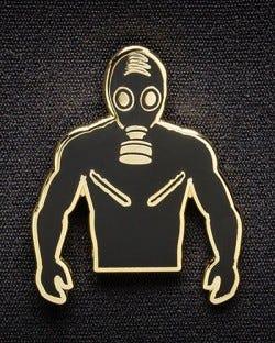 Rubber Man Pin