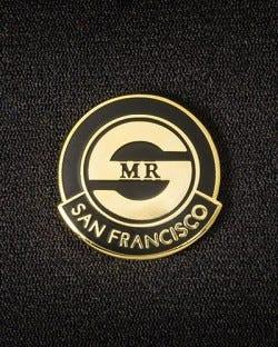 Mr. S Logo Pin