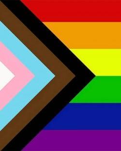 Gay Pride Flag - 3' x 5'