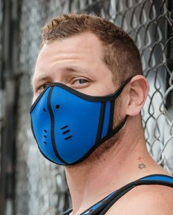 Neoprene Face Mask - Cobalt/Black