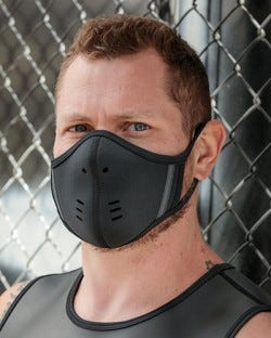 Neoprene Face Mask - Black/Grey