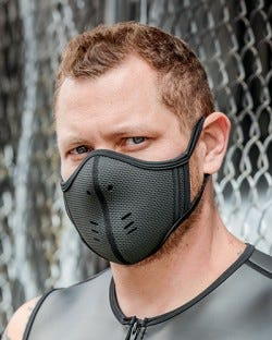 Neoprene Face Mask - Snakeskin