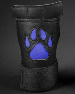 Open Paw Puppy Glove - Royal