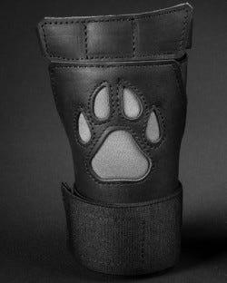 Open Paw Puppy Glove - Grey