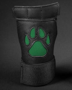 Open Paw Puppy Glove - Hunter