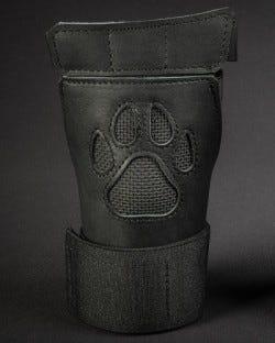 Open Paw Puppy Glove - Black