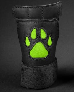Open Paw Puppy Glove - Lime