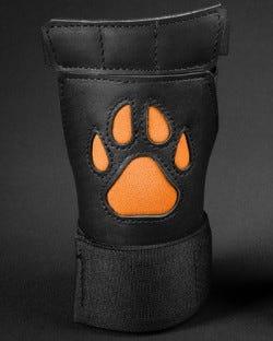 Open Paw Puppy Glove - Orange
