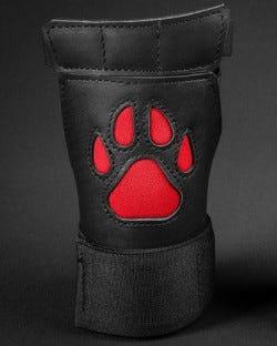 Open Paw Puppy Glove - Red