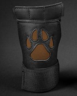 Open Paw Puppy Glove - Brown