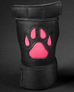 Open Paw Puppy Glove - Pink