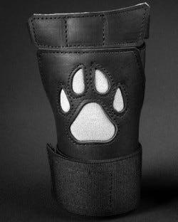 Open Paw Puppy Glove - White