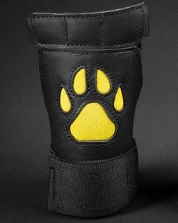Open Paw Puppy Glove - Yellow