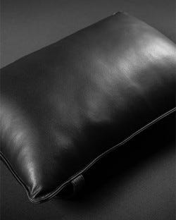 Leather Sling Pillow