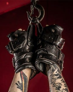 Four Buckle Hand Restraints