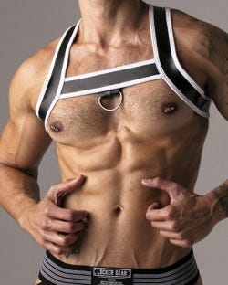 Harder Harness - White