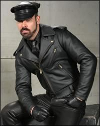 Mr. S. Deluxe Leather Jacket