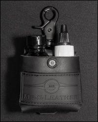 Lube & Brown Bottle Holster