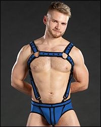 Neo Bold Color Crossbow Harness Cobalt