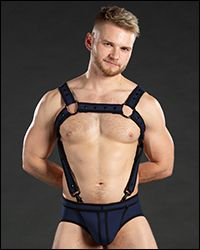 Neo Bold Color Crossbow Harness Navy