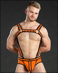 Neo Bold Color Crossbow Harness Orange
