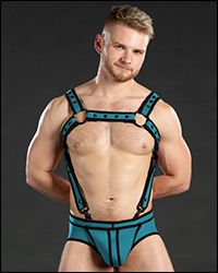 Neo Bold Color Crossbow Harness Aqua