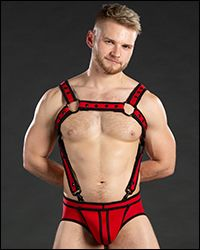 Neo Bold Color Crossbow Harness Red