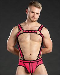 Neo Bold Color Crossbow Harness Pink