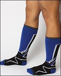 Kennel Club Sock - Blue
