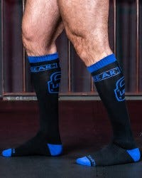 Locker Gear Knee High Socks - Blue