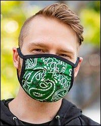 Reversible Hanky Face Mask - Hunter