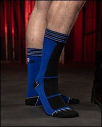 Field Socks Blue