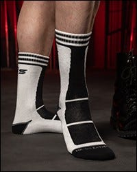 Field Socks White