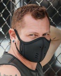 Neoprene Face Mask - Black/Black