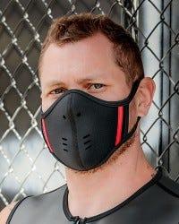 Neoprene Face Mask - Black/Red
