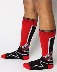 Kennel Club Sock - Red