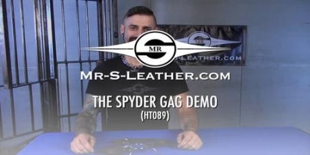 The Spyder Gag A Mr. S Leather Exclusive