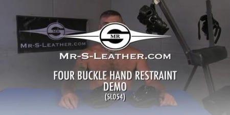 Four Buckle Hand Restraints